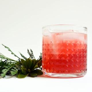 Spiced Cranberry Bourbon Cocktail