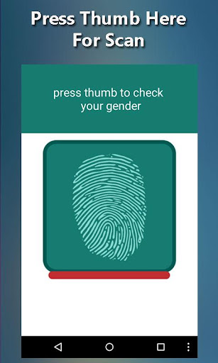 Gender Detector Simulator