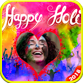 holi photo frames New
