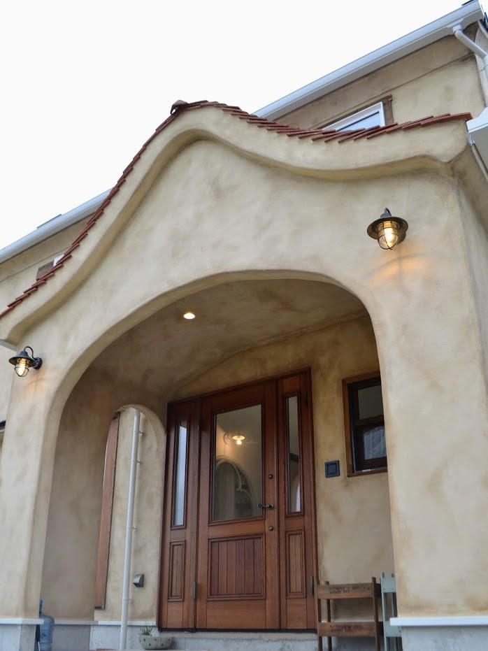 木製玄関ドア2