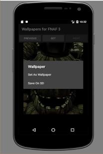 Wallpapers for FNAF 3 - náhled