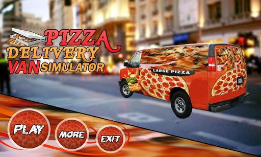 Pizza Delivery Van Simulator