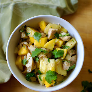 Tropical Salad with Mango, Avocado, and Chicken