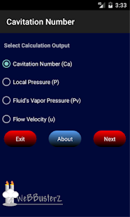 Cavitation Number Free- screenshot thumbnail