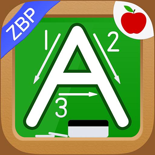 Alphabet & Numbers - English Handwriting Game -ZBP
