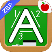 Alphabet & Numbers - English Handwriting Game -ZBP