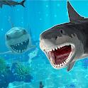 Life of Great White Shark: Megalodon Simulation icon