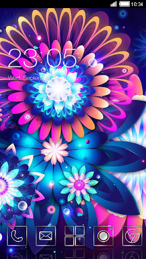 Abstract Flowers C Launcher