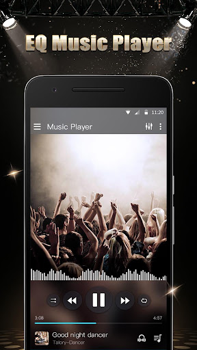Music Player - Audio Player with Sound Changer 1.2.2 screenshots 2