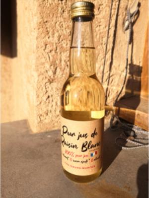 Still Grape Juice from Jacquère - Savoie Wine - Chignin - Vignolbe de la Pierre