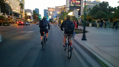Photo: More photos from the Bike Hugger Mobile Social CES with Nokia and Tern