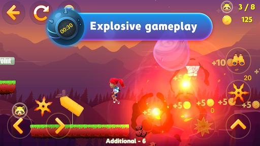 Tricky Liza: Adventure Platformer Game Offline 2D screenshots 9