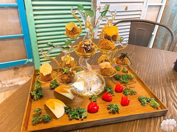 台北大安-甲泰船麵-夜宵渡海到暹羅,磅秤上菜甜甜圈蝦餅,生命之樹展風華,聚餐嶄新食之樂。