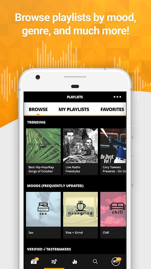 Audiomack Music & Mixtapes App- screenshot