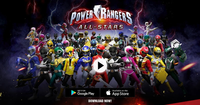 [Power Rangers: All-Stars] พร้อมปฏิบัติการบนมือถือ!