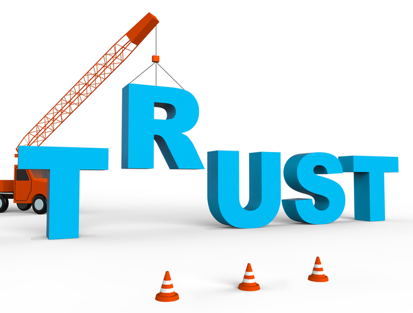 Instils an experience of trust