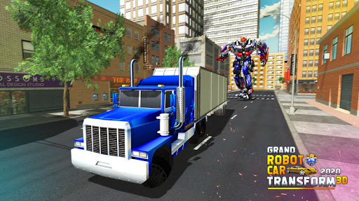 Grand Robot Car Transform 3D Game  screenshots 4