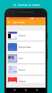 Fake ID Card Maker For India Screenshot