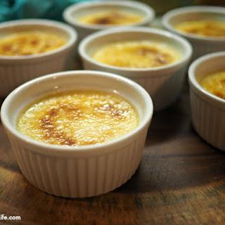 Healthier Instant Pot Crème Brûlée.