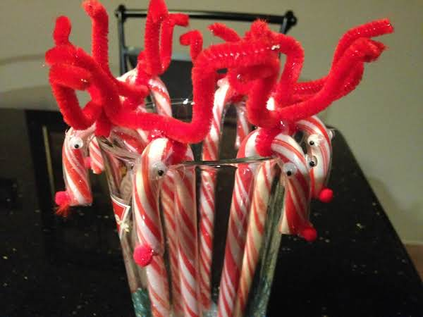 Reindeer Candy Canes Recipe