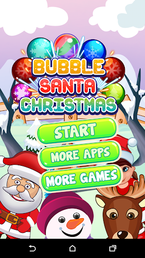 Bubble Santa Christmas