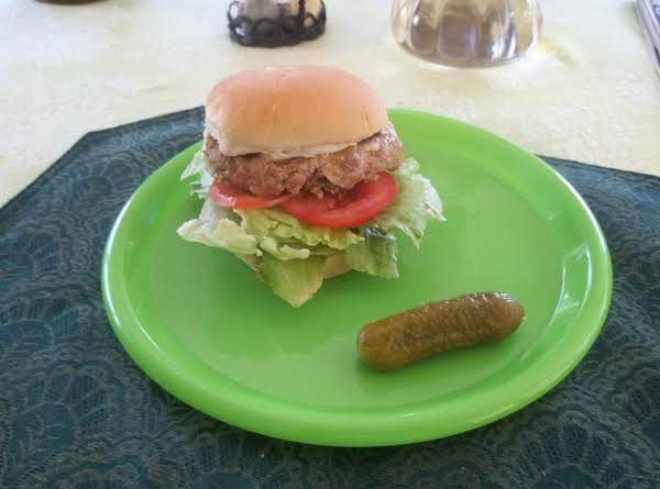 Tasty Turkey Burger
