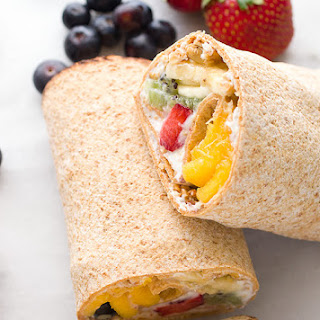 Rainbow Breakfast Wraps Recipe