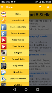 Parlamento M5S- screenshot thumbnail