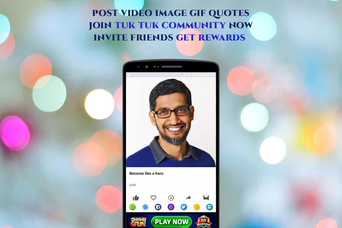 Tuk Tuk – Video,Image,Gif,Whatsapp Status Saver – (Android