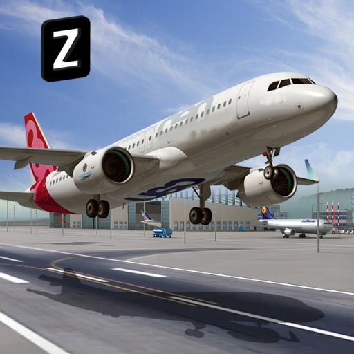 Airplane Flying Sim 2017