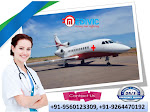 Hire Inexpensive Fare Air Ambulance Service in Bhopal by Medivic