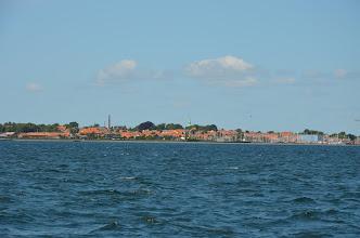 Photo: Marstal op het Deense eiland Aro