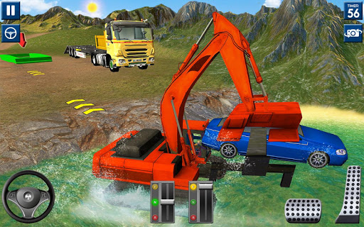 Heavy Excavator Simulator 2020: 3D Excavator Games screenshots 24