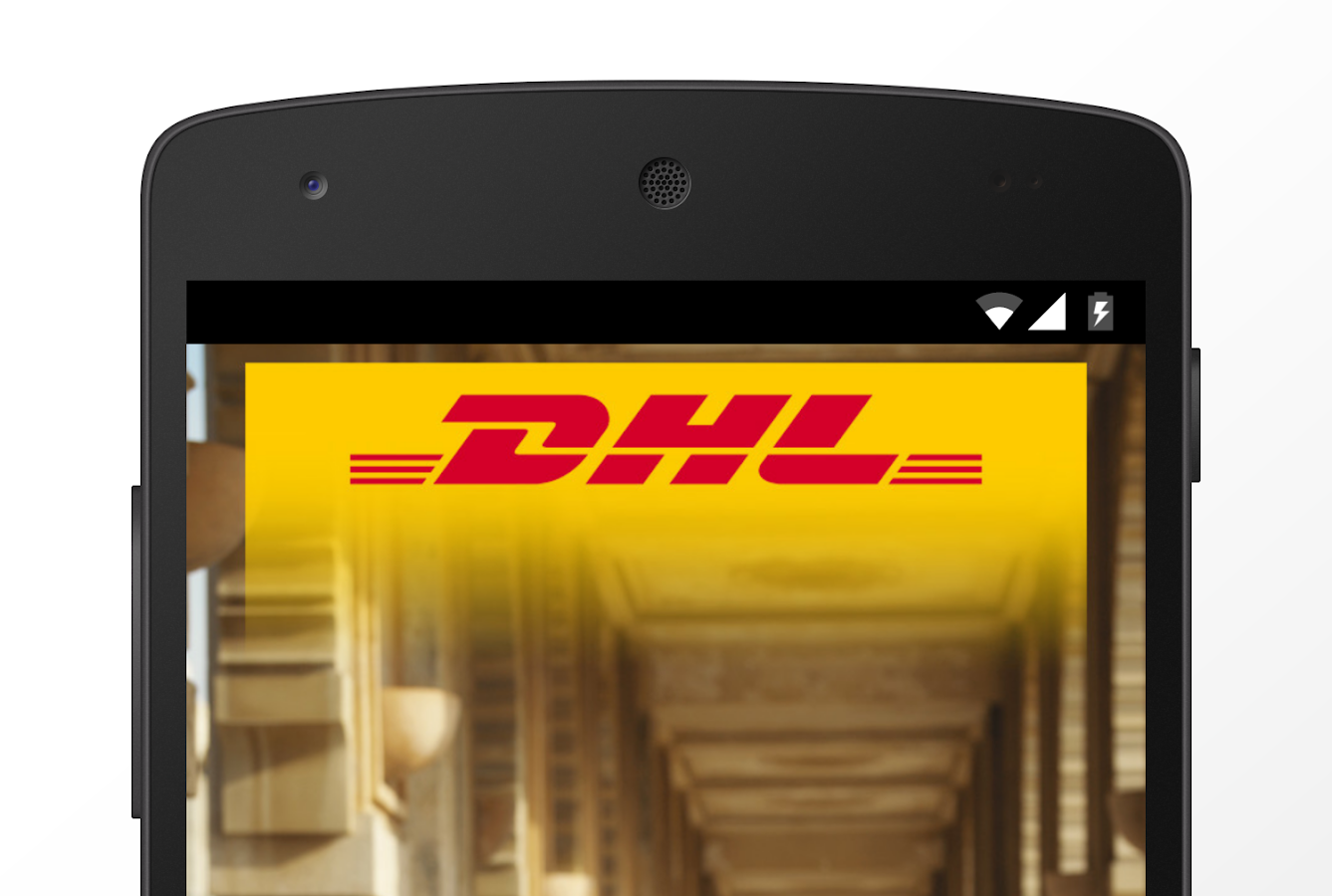 DHL Egypt- screenshot