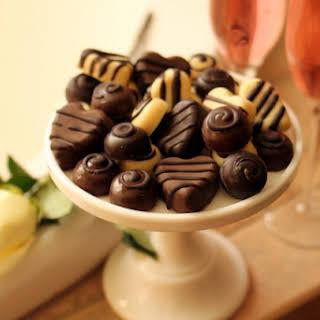 White Chocolate Keto Truffles.
