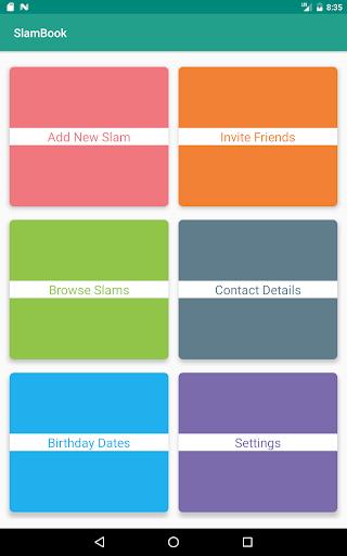 SlamBook 1.8-RELEASE screenshots {n} 10