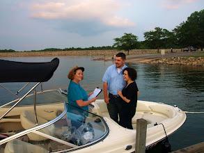 "Photo: ""Elope on a Boat'!! -  Lake Hartwell - 7/10 - Hartwell, GA ~ http://WeddingWoman.net ~"