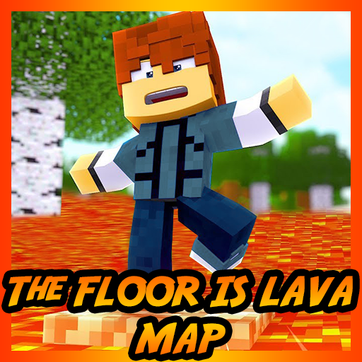 The floor is LAVA Map Challenge for MCPE