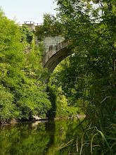 Photo: Il ponte della ferrovia sul Lambro
