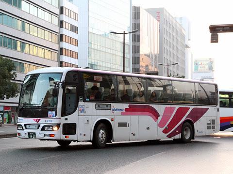 西鉄「島原号」 9719 新川橋にて