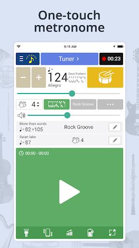 Tuner & Metronome 4.49 screenshots 2