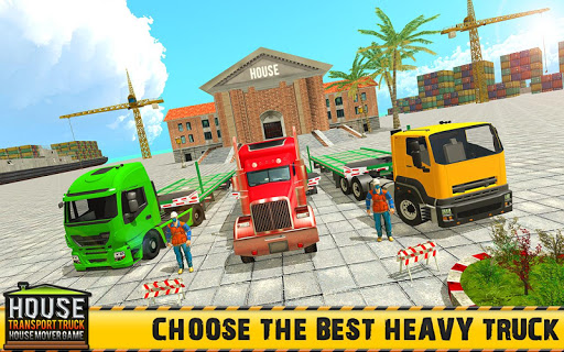 Mobile Home Transporter Truck: House Mover Games 1.0.4 screenshots 3