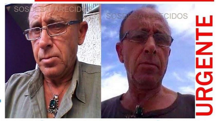 Imágenes de José Antonio Linares difundida por SOS Desaparecidos.