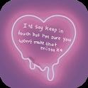 💔 Heartbreak Quote Wallpapers icon