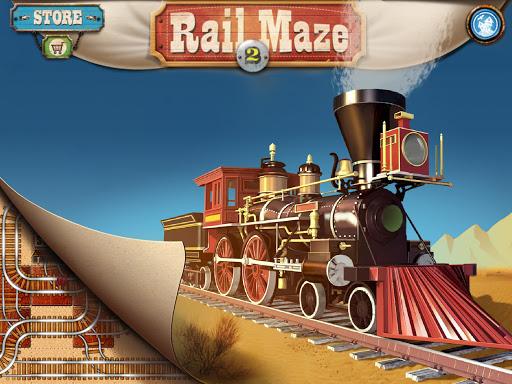 Rail Maze 2 : Train puzzler  gameplay | by HackJr.Pw 12