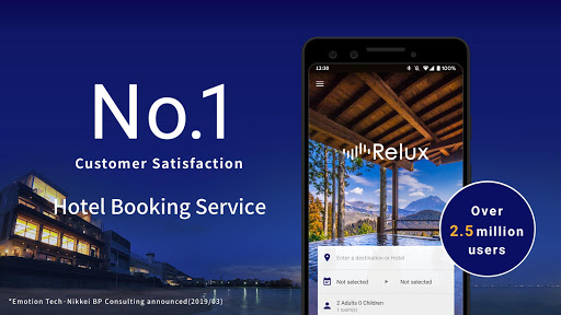 Relux - A hotel and Ryokan booking application ss1