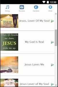 Christian Chat & Song screenshot 0