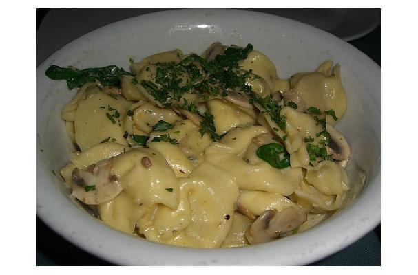 Tortellini in Four Cheese Sauce Recipe