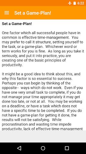 Increase Productivity Tips