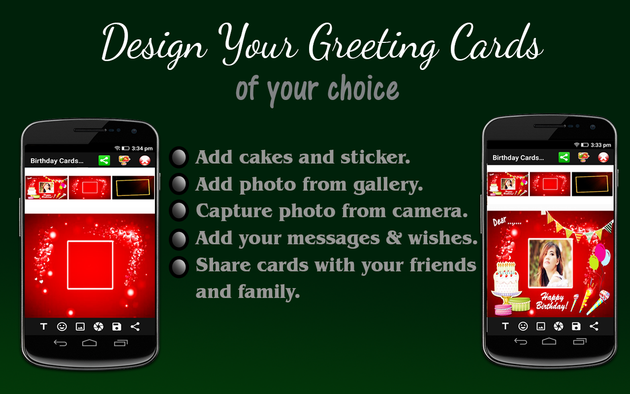 Happy Birthday Card Maker Android Apps on Google Play – Send Free Birthday Card to Cell Phone